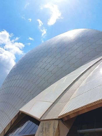 Close Up of the Sydney Opera House Architecture Built Structure Sky Low Angle View Day Outdoors No People Travel Destinations Building Exterior Australia Landmark Blue Famous Tourist Attractions Rethink Things Sydney Photography Be. Ready. Travel Photography Architecture Arts Culture And Entertainment Pattern Low Angle View Textures And Surfaces Cityscape Concrete White Building