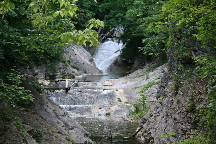 Waterfall Waterfall Natural Bridge