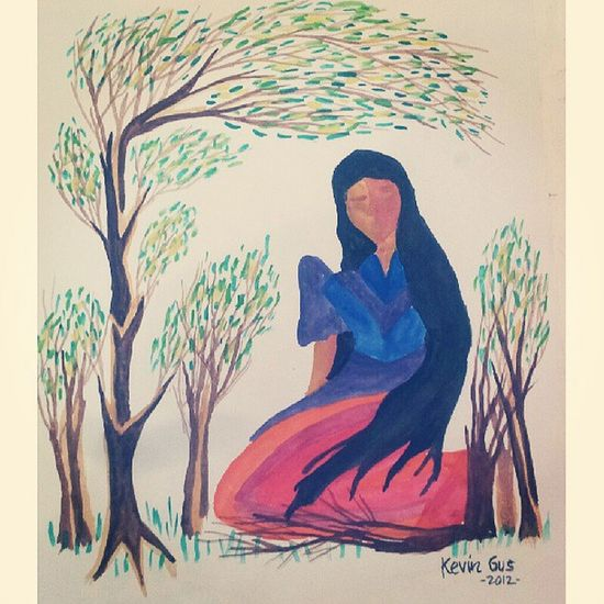 Lady Pinoystyle Old Kultura Pinoy filipinoart filipino filipinoartist pinoyart pinoyartistry art artwork painting