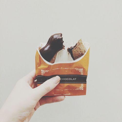 orangechocolate♡ Dounuts Yummy Check This Out