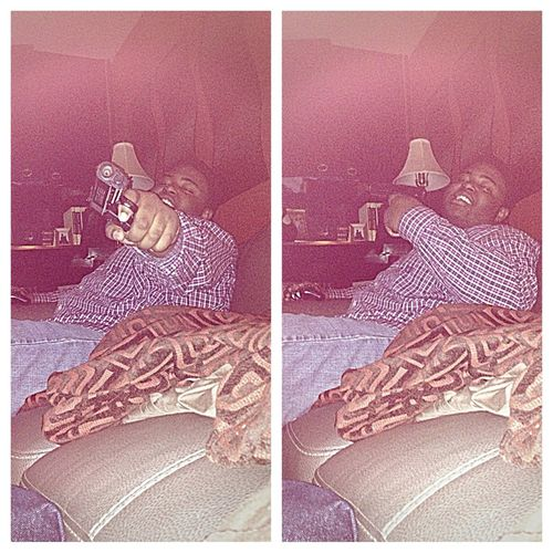 Me Loafn Yesterday ! #Ceo With A Big Pistol !