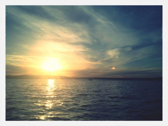 Gotta love Lake Washington