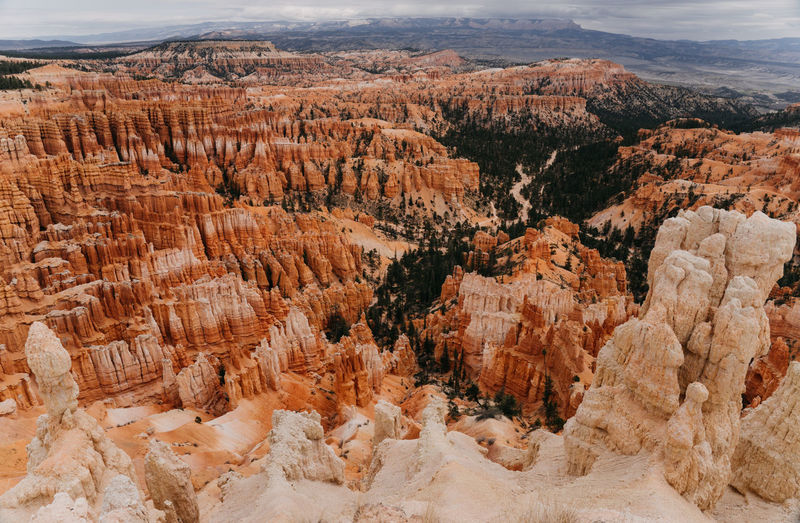 Bryce Canyon National Park Bryce Canyon Bryce Canyon National Park, Utah Utah Scenery Us National Park Scenics - Nature Rock Red Rocks  Travel Destinations Mountain Rock Formation Travel Rock - Object Non-urban Scene Environment Landscape Canyon Tranquil Scene Beauty In Nature Nature Remote Solid No People Tranquility High Angle View Day Outdoors Climate Arid Climate Eroded
