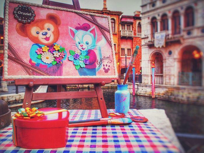 Disney sea💕 Disney DisneySea Walt Disney World Duffy Gelatoni Pink Color Cute