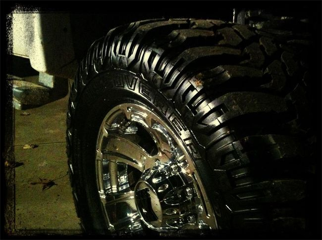 now the new tires