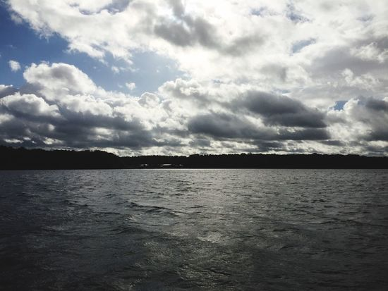 Dyas Sailing Müggelsee Sky Tranquility Nature Beauty In Nature Cloud - Sky Tranquil Scene No People Scenics Sea Outdoors Water Landscape Day
