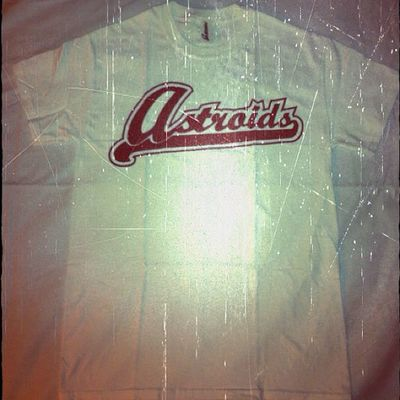 @astroids All American T Shirt, White/Maroon S-XXL Available Next Week on www.iastroids.com ! California Fresh Fall Fashion Streetwear Astroids