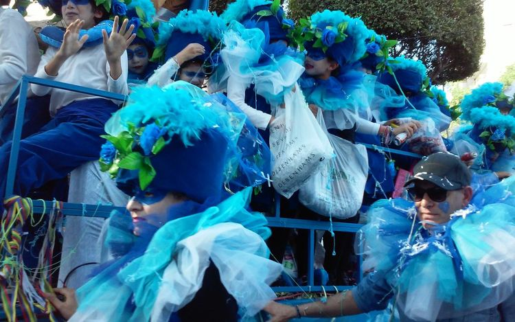 Blue Bright Colours Carnival Carnival Spirit Costume Costumes Cyprus Facepainting Fun Light Blue Limassol Parade Parade Time