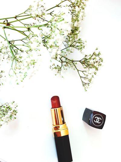 Dior Lipstick Nude Sparkling French Black Flower White Had