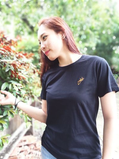 Modelgirl Tshirtcollection Tshirt Staglion Iwearstaglion Outdoors Daylight Thailand