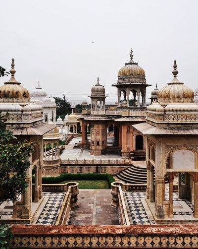 India Travel Photography Traveling Ancient Civilization Architecture Building Building Exterior Built Structure Cenotaph Clear Sky Day Dome History Incredible India Mughal No People Outdoors Pavilion Rajasthan Sky The Past Tourism Travel Travel Destinations Travelphotography