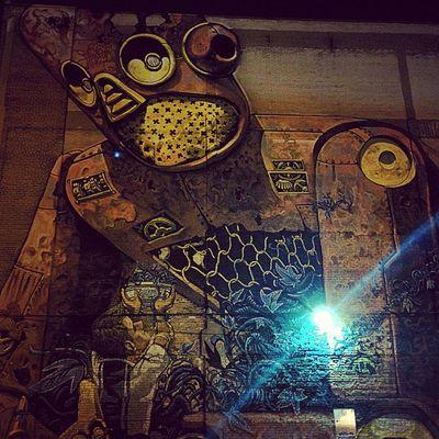 Street Art Montreal, Canada Robot