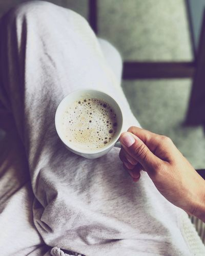 One Person Coffee Cup Coffee - Drink Refreshment Freshness Women Lifestyles Coffe CoffeTime MyTIME Monday Eyemcoffee Relax