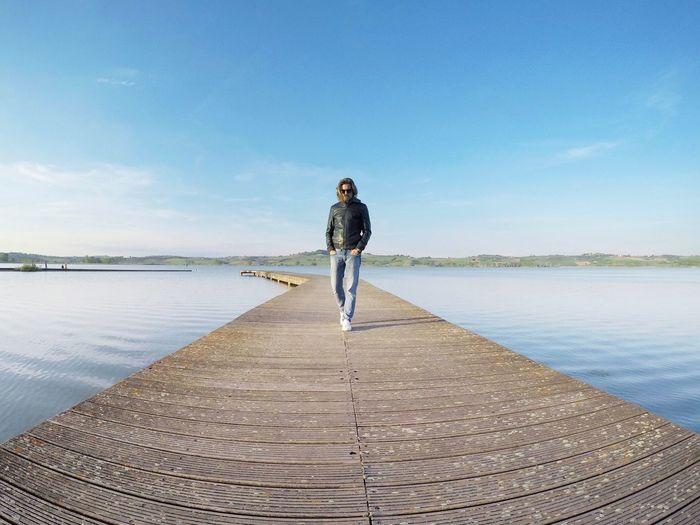 Lake. One