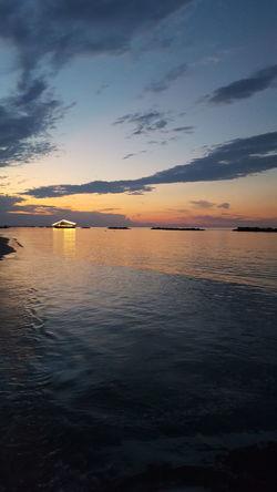 Water Low Tide Sea Sunset Beach Flamingo Wave Sand Summer Beauty