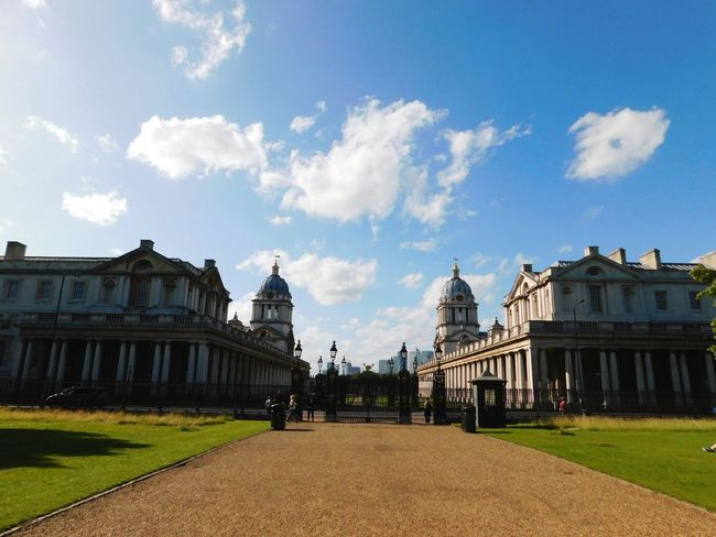 LONDON ,GREENWICH Architecture Cloud - Sky Sky Politics And Government Cityscape City Travel Destinations Government Outdoors Blue Built Structure Statue Politics Building Exterior Day No People Urban Skyline King - Royal Person Royal Person LONDON❤ Greenwich EyeEmNewHere