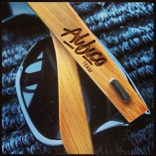 I want and need a pair of these, Alibico Team Sun Glasses engraved abliico team logo black tinted wood chrome I want pair me like cool nice
