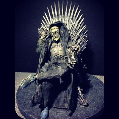 Watch the Throne... Game of Thrones is back April 6th!