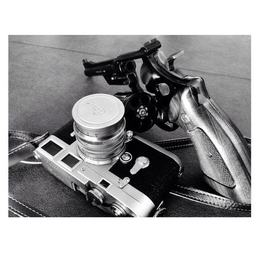 Classic Leica SmithAndWesson Revolver Camera