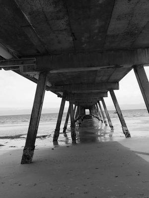 Glenelg Jetty South Australia Black & White EyeEm Beach