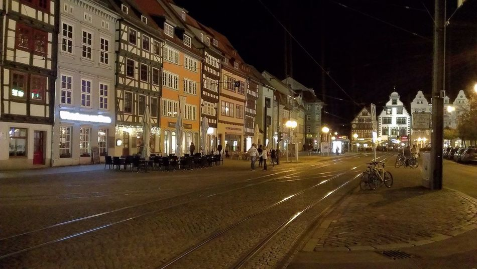 Erfurt at evening Erfurt