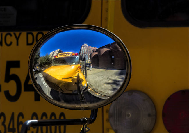 School Bus Rear View Mirror School Bus Rear View Mirro School Bus Stop Convex Mirror Rear View Mirror Reflections