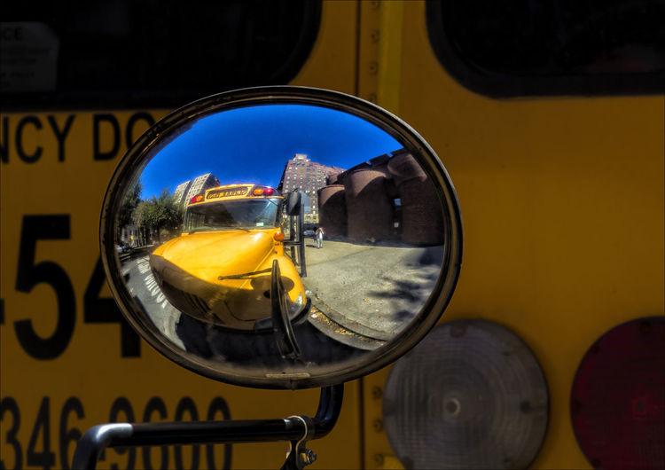 School Bus Rear View Mirror School Bus Rear View Mirro School Bus Stop Convex Mirror Rear View Mirror Reflections