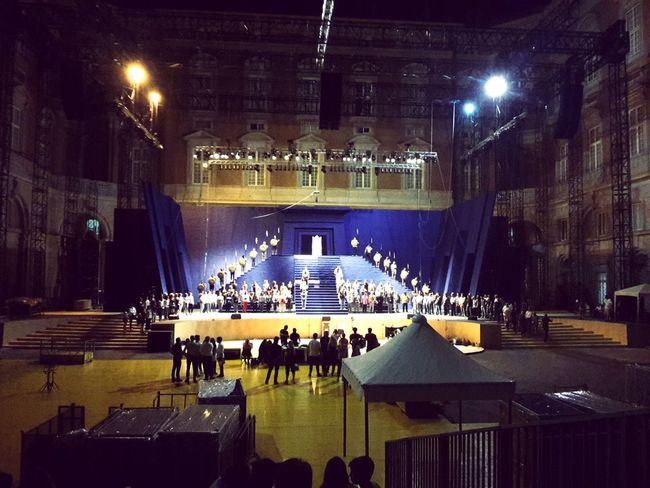 Nabucco Reggia Di Caserta Teatro Opera Lirica Prove Show Architecture_collection