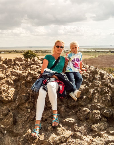 Autumn sunshine at the ruins of Hadleigh Castle Ways Of Seeing Ways Of Seeing Love Sky Sky And Clouds Clouds Mackerel Sky Drifts Castle Ruin Colourful Color Portrait Beautiful Girl Sunglasses Sunlight Sunshine Blond Hair Blonde Girl Blonde Innocence Blond Woman Family Love Family Time Mum And Daughter Daughter And Mother Ruins Ruins Architecture Summer Young Girl Smiling Face Sunglasses EyeEmNewHere My Best Travel Photo