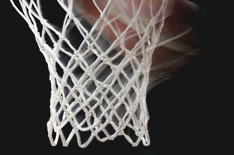 basketball motion Basketball Art And Craft Ball Black Background Casual Clothing Close-up Complexity Creativity Indoors  Leisure Activity Motion Nature Net Nets Netting One Person Pattern Silver Colored Sport Standing Studio Shot Textile White Color