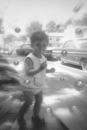 Untold Story Photographic Memory Thats Me  Taking A Walk Memory Lane Blast From The Past 1969 London Ontariothe year I was brutaly separated from my baby sister Em Grady and 45 years later,thanks to EyeEm we found each other again!! Learn & Shoot: Working To A Brief Bnw_friday_eyeemchallenge my love for bubbles started early