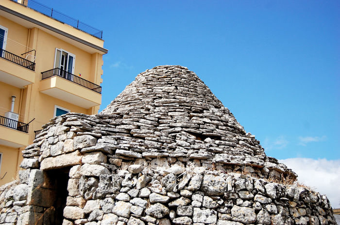 Building Exterior Architecture Built Structure Clear Sky Low Angle View Sunlight Outdoors Archival Sky No People Day City Adapted To The City Architecture Nature EyeEm Best Shots Martinafranca Trullilovers The Week On EyeEem Weekly Welcome Trulli Houses Traditional Culture EyeEmNewHere Architecture_collection Traditional Architecture Miles Away Art Is Everywhere
