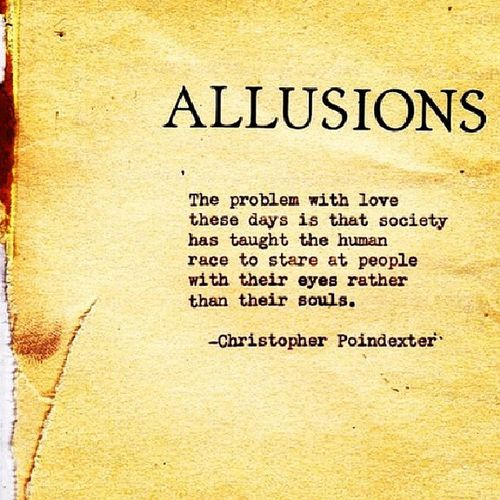 Problemwithlove Allusions Poetry