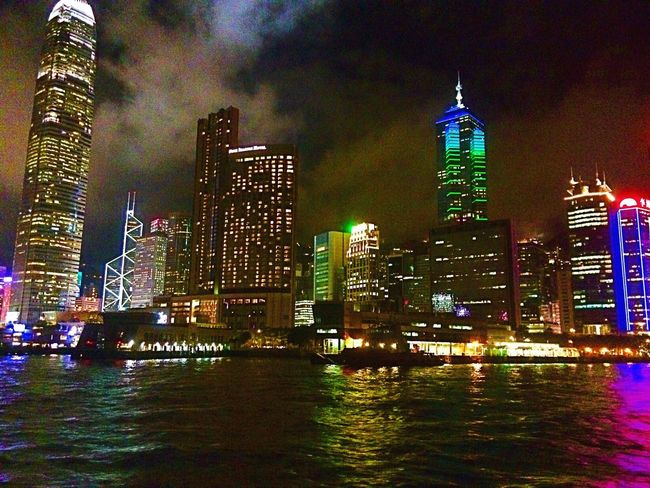 Hong Kong Island Hk Style Hk Nites Hong Kong Harbour First Eyeem Photo