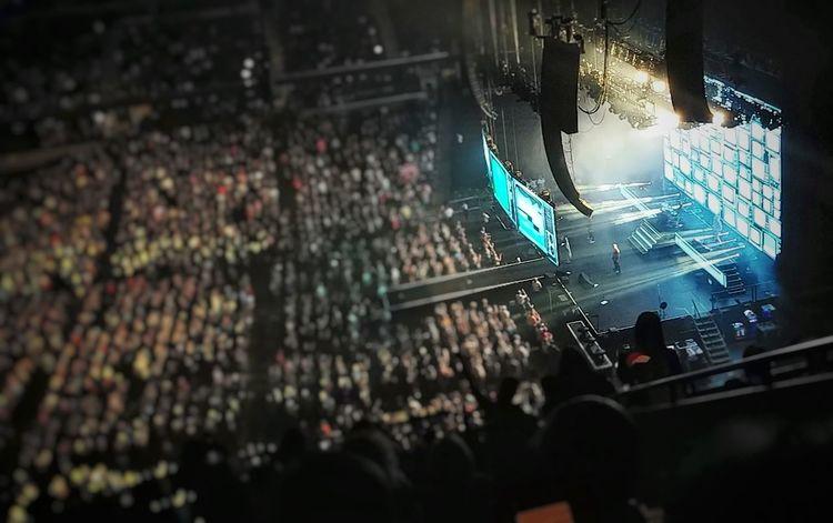 """Rocket"" Def Leppard Def Leppard Concert Mobilephotography LGV30photography LGV30 Illuminated Stadium City Stage Light Music Concert Modern Rock Rock Music Concert Audience Live Event"
