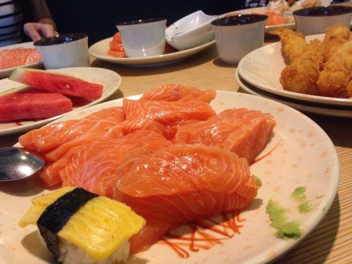 Sashimi  Salmon Food Porn Japan