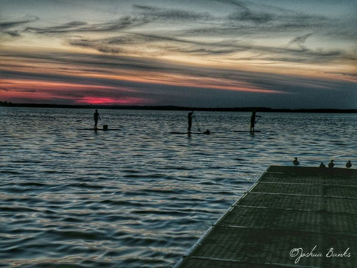Some evening paddleboarding on Lake Mendota in Madison, WI. Relaxing Soaking Up The Sun Lakeshore Madisonwi Wisconsin WisconsinSunset Excercising Discoverwisconsin
