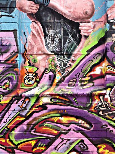 Graffitti detail Culural Rapest
