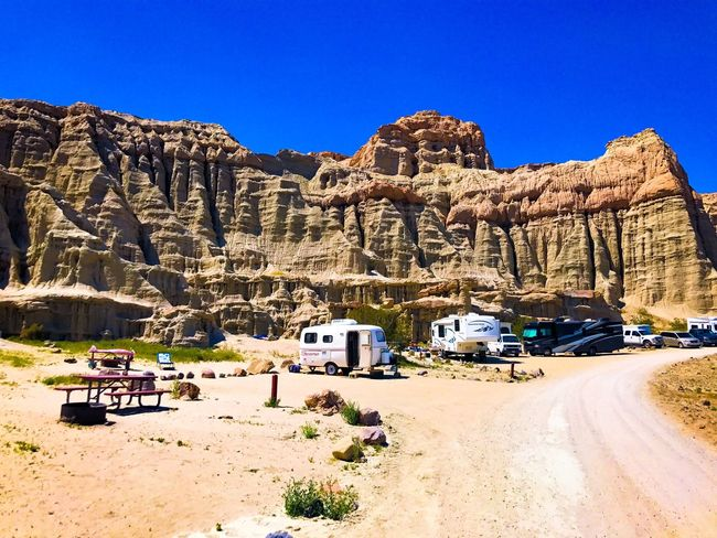 Camping Camera Peace Mobilehome Mountain Rock Formation Land Vehicle Transportation Scenics Landscape Sunlight Trail Hike The Great Outdoors - 2017 EyeEm Awards