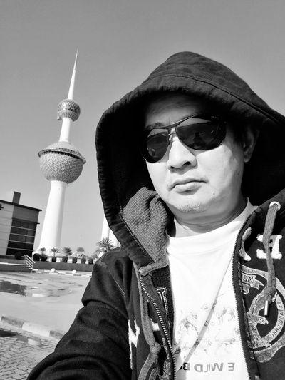 Sunglasses One Person Outdoors Selfie Portrait Closeup Photography Monochrome Photograhy Lifestyles Sportswear Street Photography