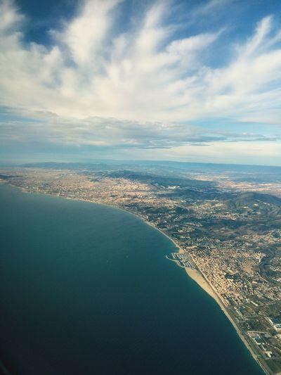 Showcase: February Barcelona KLM Scary Clouds