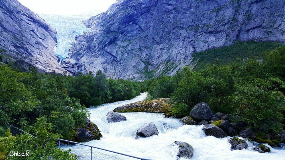 Glacier Fall Norway The Traveler - 2015 EyeEm Awards Traveling Amazing Edge Of The World