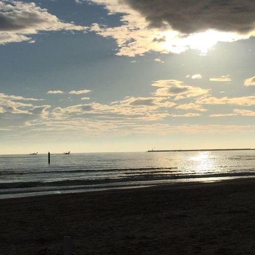 Scenics Beach Beauty In Nature Horizon Over Water Sky Cloud - Sky