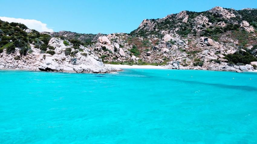 Sardegna Beach, Italy Love Holiday 2015  Beach Beautiful Beautiful Nature Beauty In Nature Blu Sea Blue Costa Smeralda Holiday Island Loveit❤ Lovely Lovetravelling Nature No People Sardegna Sardegnaofficial Sea Sky Tranquility Travel Destinations Travel Photography Travellerslife Travelling Water