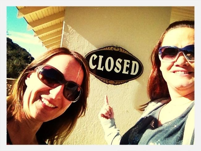 ...alas, by the time onstar got us there, they were closed :(