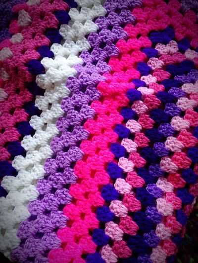 Chilling my crochet pinks & purples love warm winter is coming Dark Pink By Motorola My Hobby