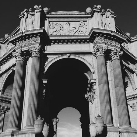 in the land of the hawk: the palace Neoclassical Neoclassical Architecture The Palace Of Fine Arts, SF Architecture Travel