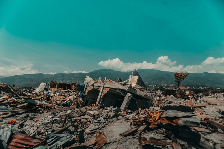 Sulawesi earthquake and tsunami