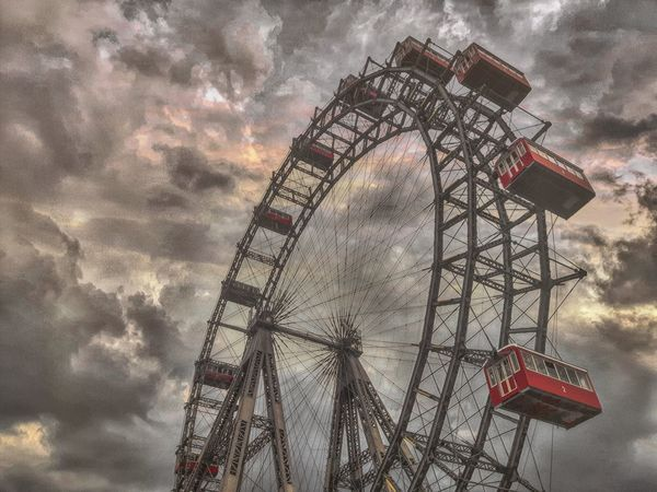 Prater Prater/Vienna Praterstern Wien Vienna Riesenrad Ferris Wheel Ferriswheel Ferriswheelinthecity🎡🎢 Twitter Black And White With A Splash Of Colour Edit Junkie First Eyeem Photo Getting Inspired Eye4photography  The Places I've Been Today Facebook From Where I Stand Sowing What You Reap Skyporn Sky_collection Sun_collection Sky And Clouds Clouds And Sky Cloud_collection  Austria Editoftheday