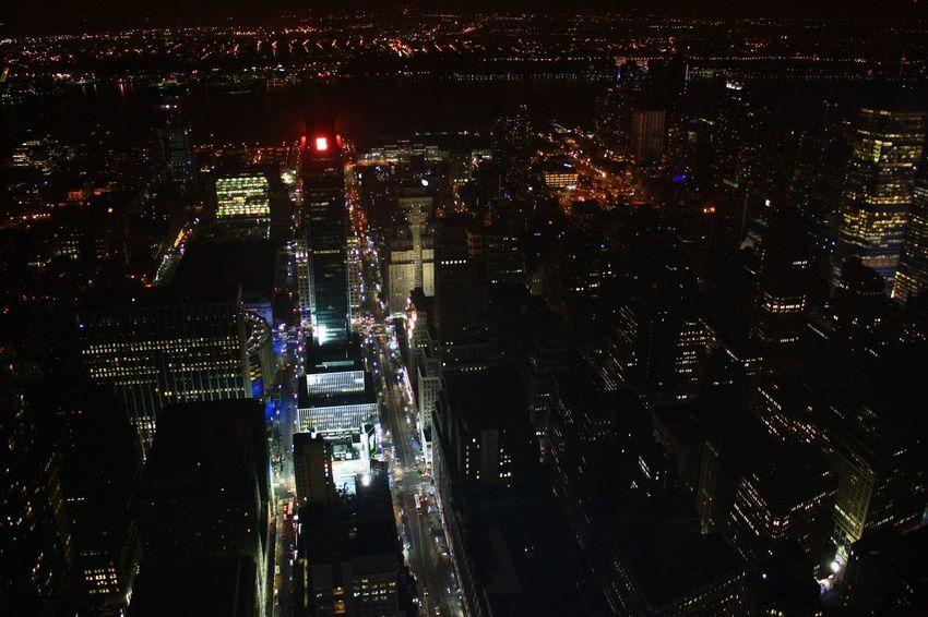 Battle Of The Cities New York City Night Light City